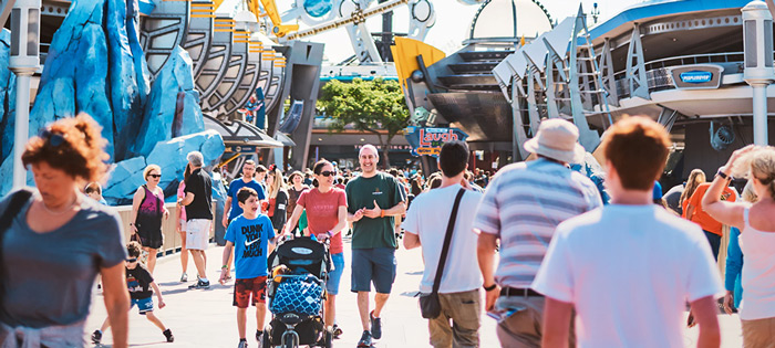 knee scooter rentals for theme parks