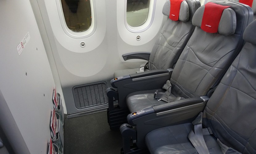 airline front seat
