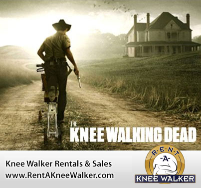 The knee walking dead