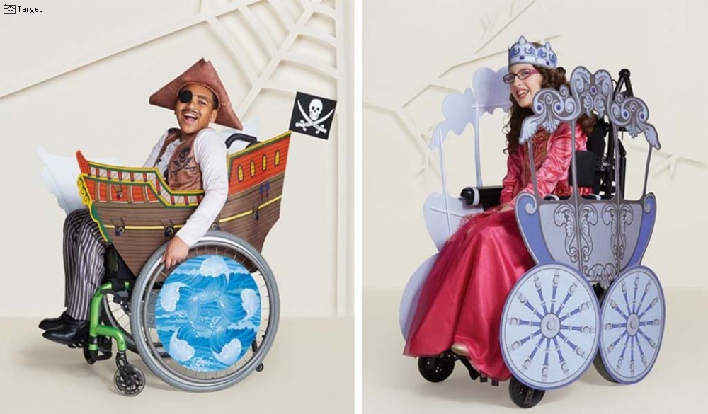 Target Introduces Wheelchair-Friendly Halloween Costumes Large Image