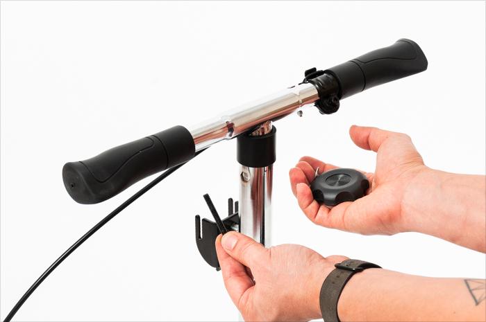 adjusting all-terrain handlebars