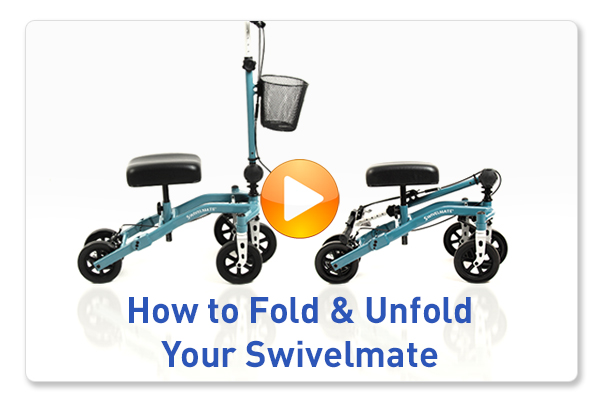 unfold knee scooter video