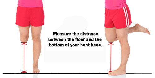 how to measure a knee walker