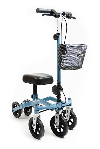 Swivelmate indoor knee scooter