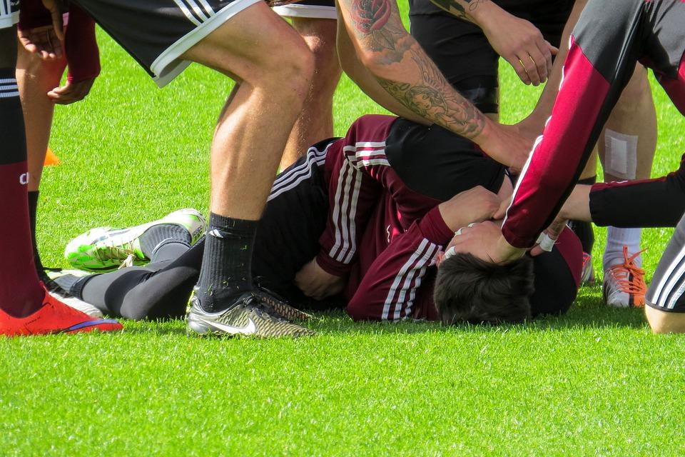 player injured