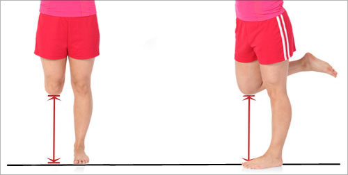 knee height adjustment