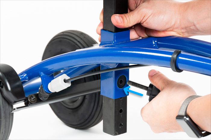 Orthomate all terrain knee scooter
