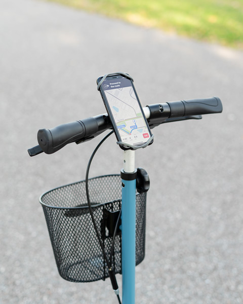knee scooter phone mount