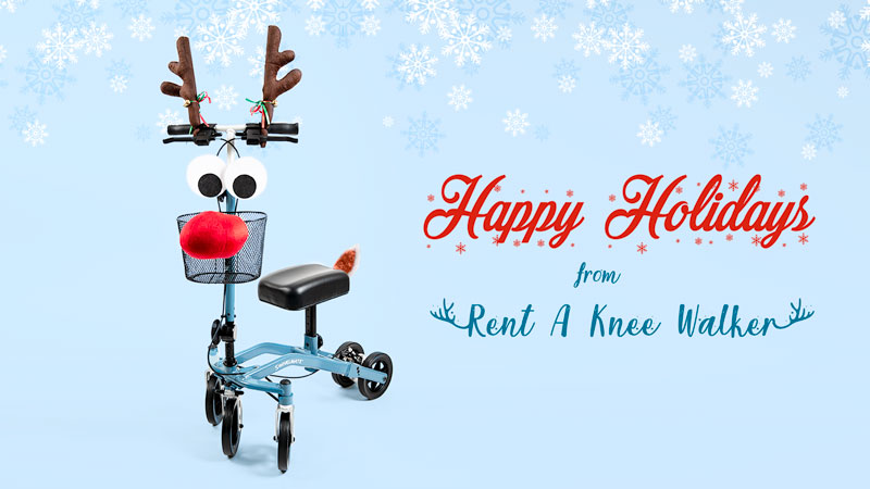 Happy Holidays from Rent a Knee Walker
