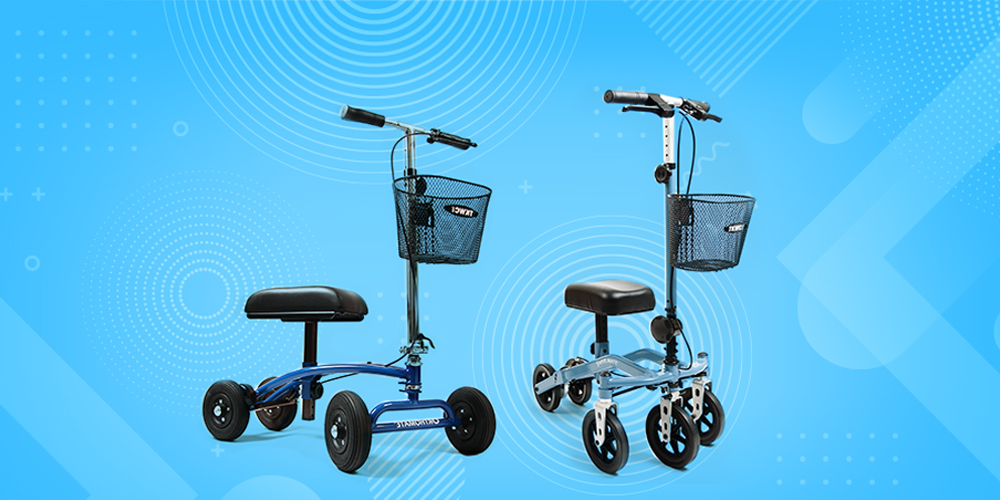 What is the Cost of a Knee Scooter Rental Large Image