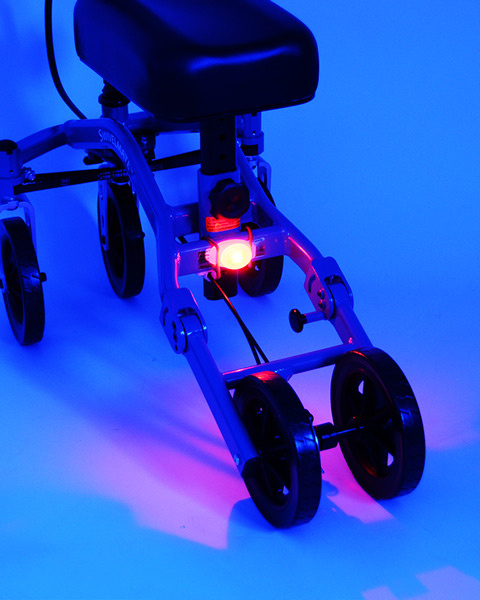 knee walker led light
