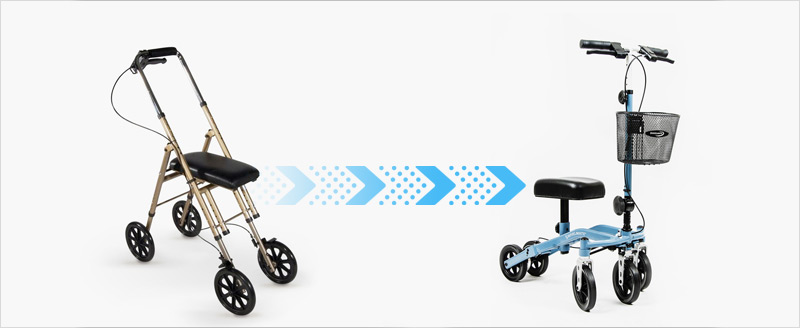 Design evolution of roll about scooters
