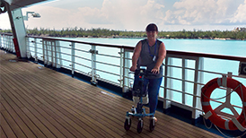 Thumbnail: Traveling With A Knee Scooter On A Cruise Ship