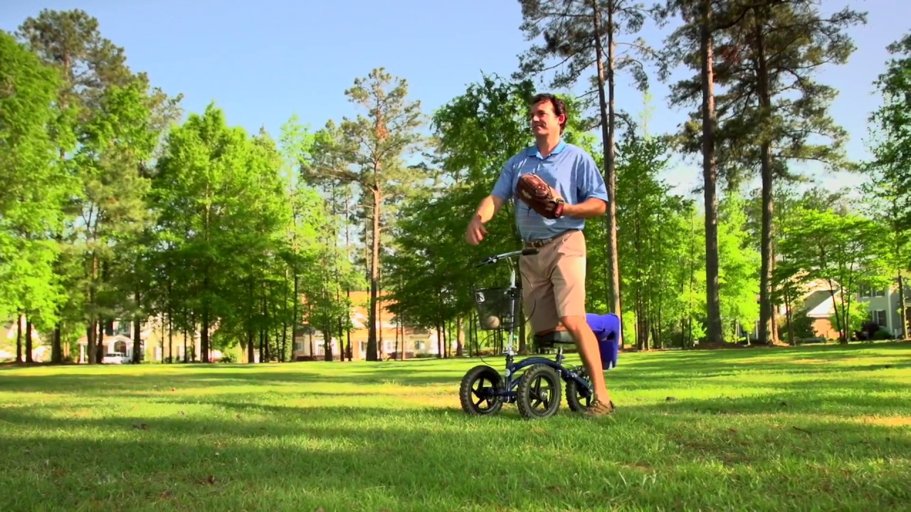 outdoor knee scooter