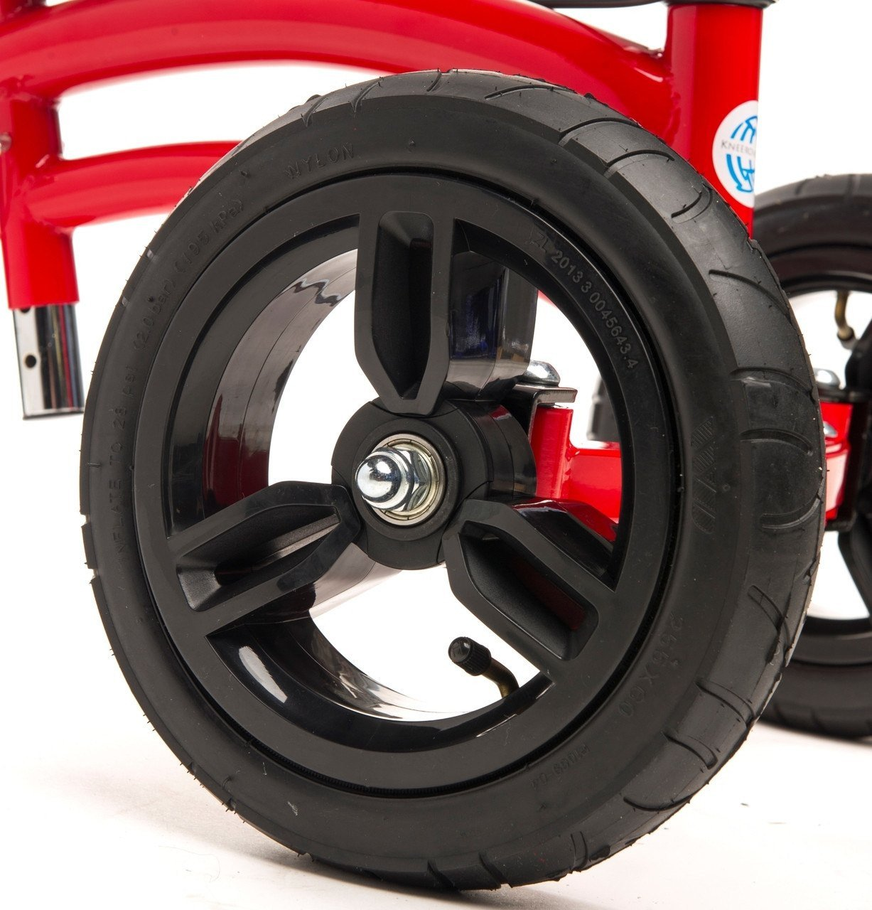 air filled rubber tires