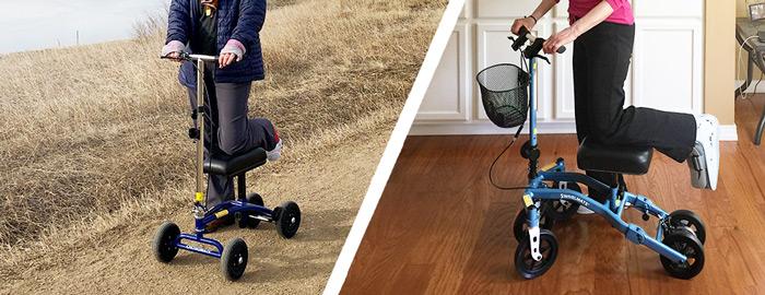 knee scooter outdoor vs indoor
