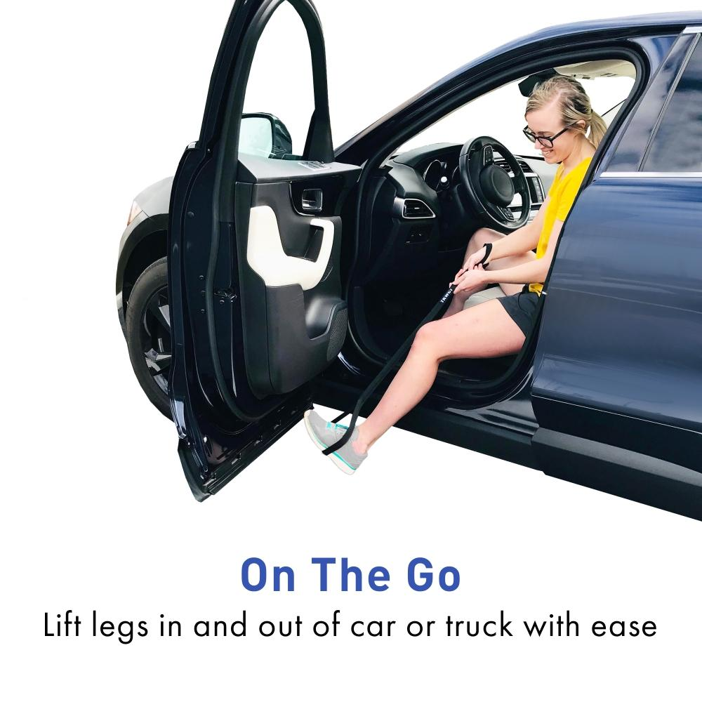 leg lifter for car use