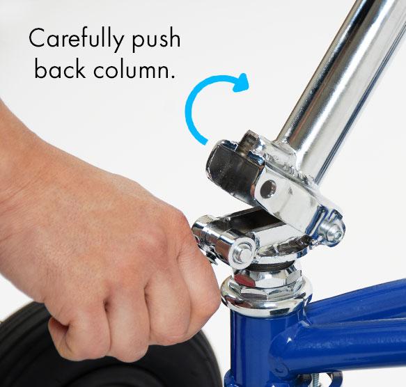 Unlock Steering Column Step 3