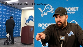 Thumbnail: Detroit Lions Head Coach Matt Patricia Opens Training Camp On Knee Scooter