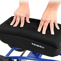 memory foam knee pad hands