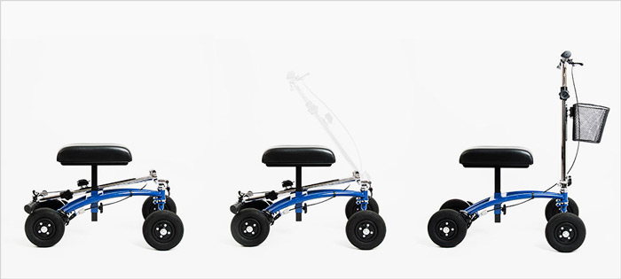 foldable knee scooter