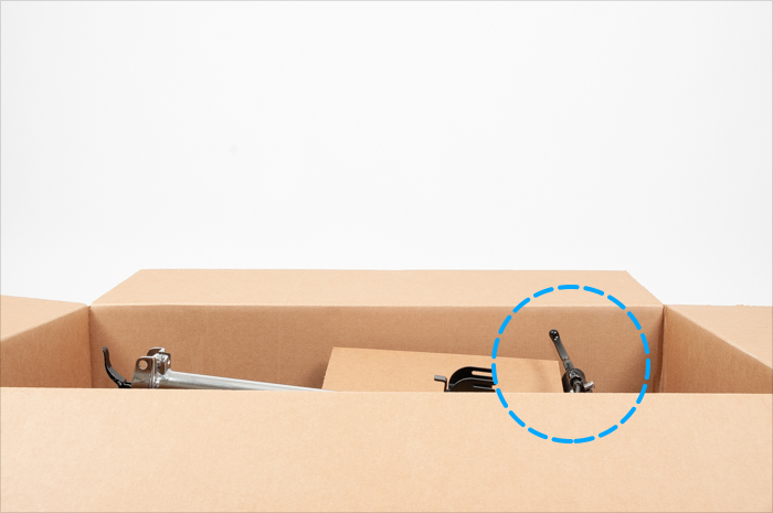 brake below box fold
