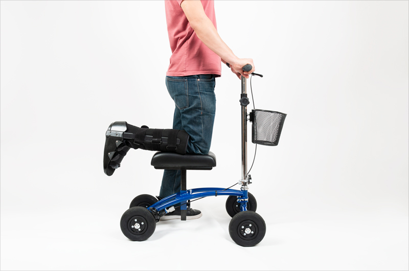Orthomate All-Terrain Knee Scooter by TKWC