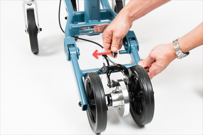 fold rear wheel frame 1
