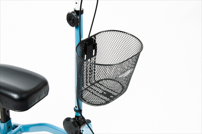 remove knee scooter basket