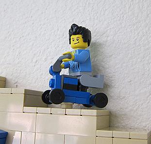 Lego Knee Walker