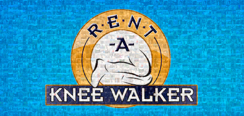 rent a knee walker logo
