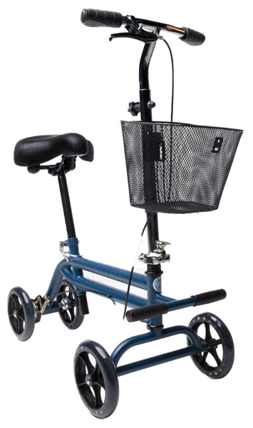 heavy duty seated knee scooter