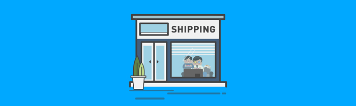 shipping store