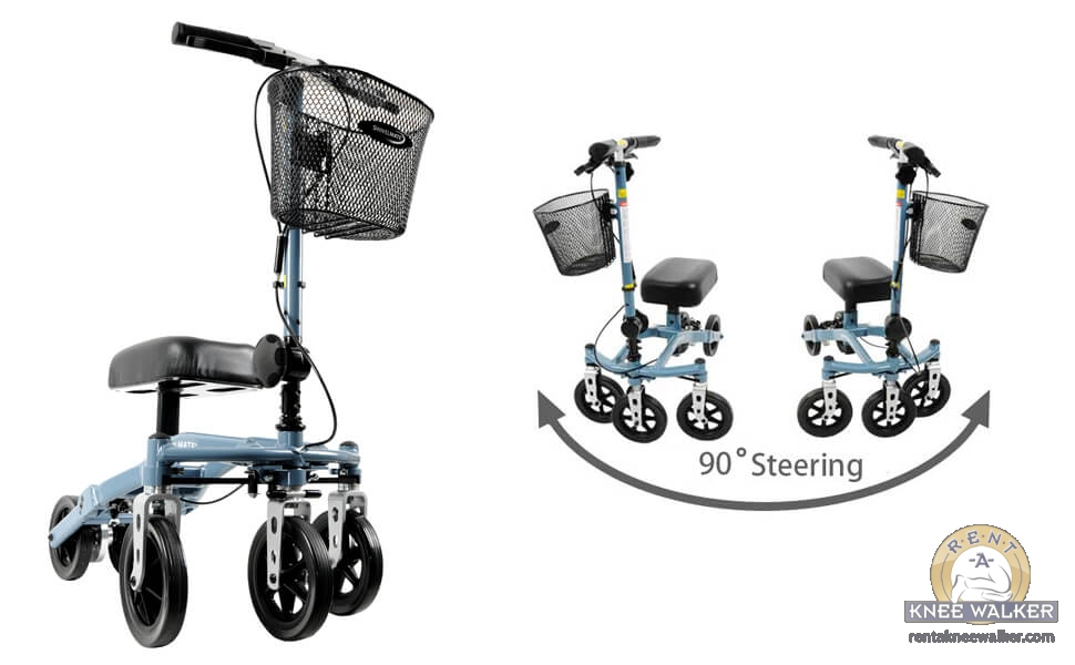 Introducing The Swivelmate Knee Walker Large Image