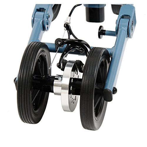 solid tires from Swivelmate knee walker