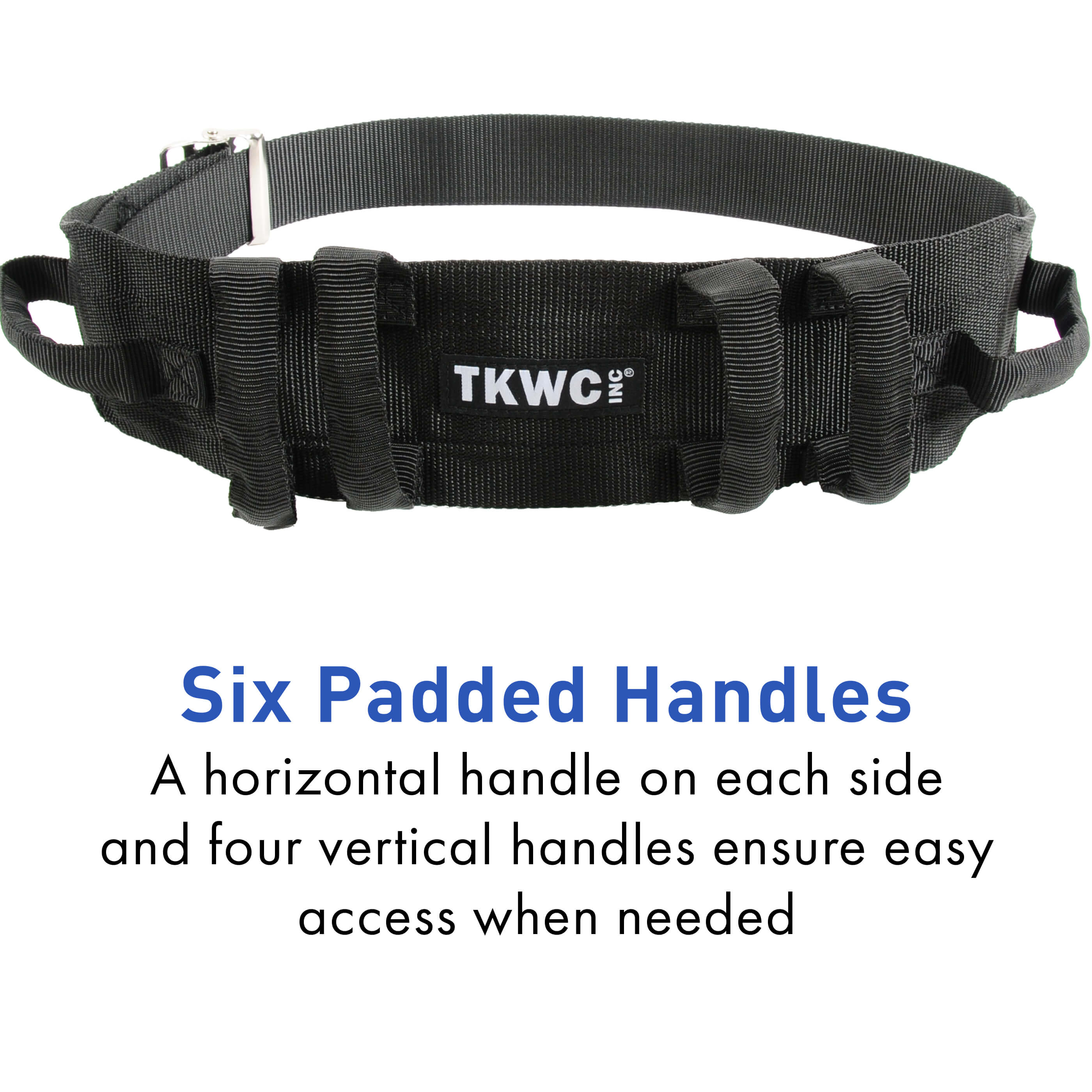 Six Padded Handles Transfer Belt