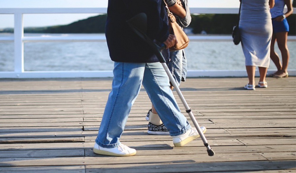 Traveling With Crutches Large Image