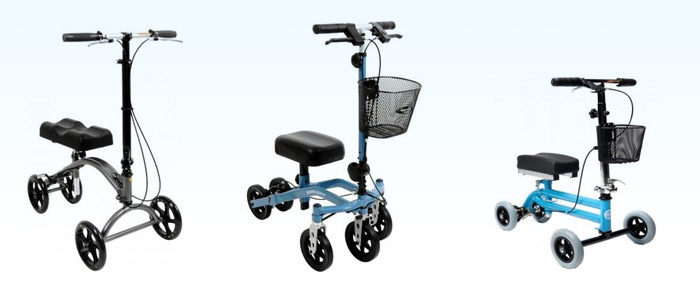 variety of knee walkers