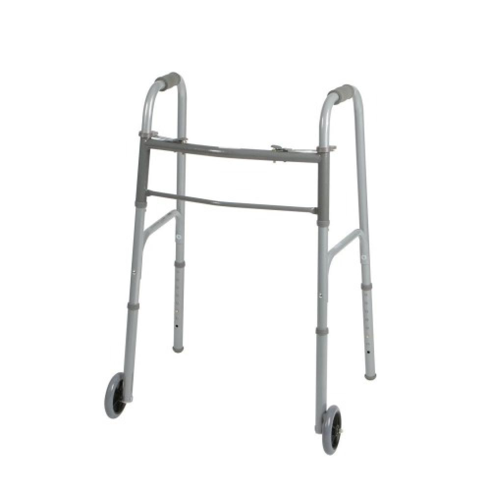 Walker-Two Button Folding Walker