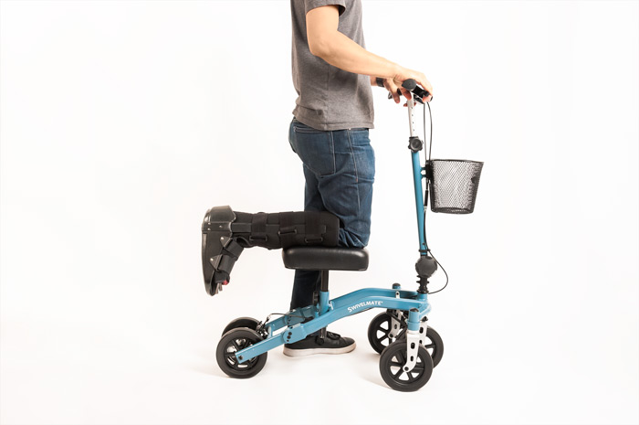 knee walker proper use