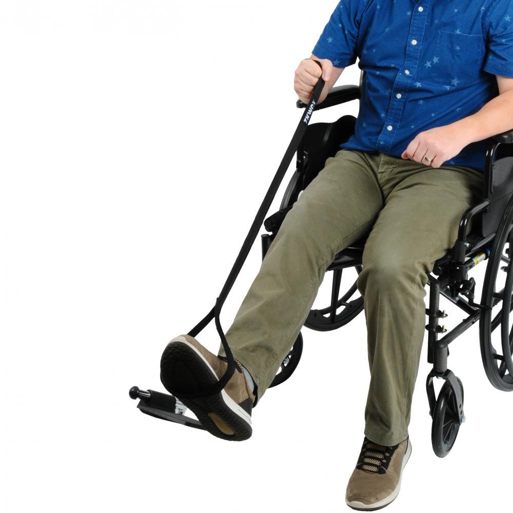 leg lifter for wheelchair