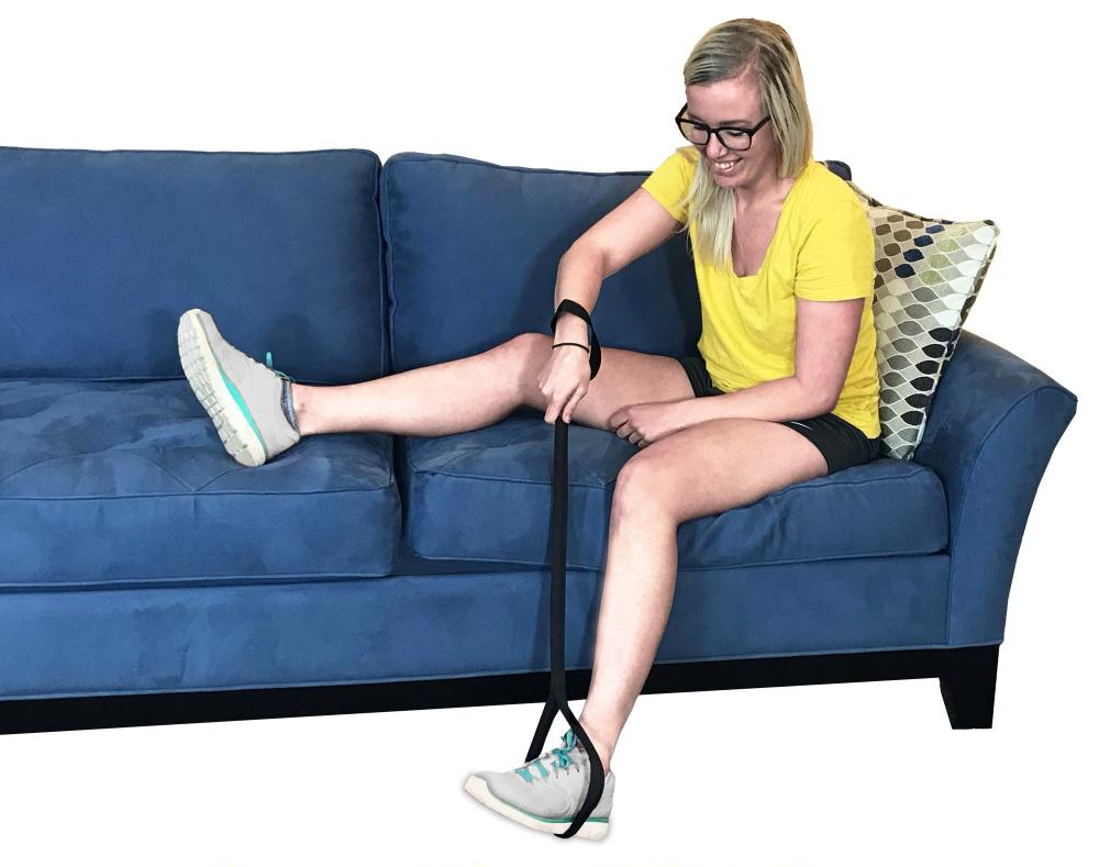 leg lifter for knee surgery