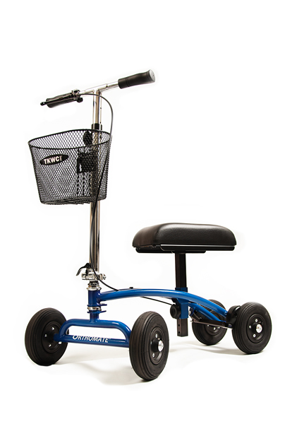 non-weight bearing scooter for outdoor use